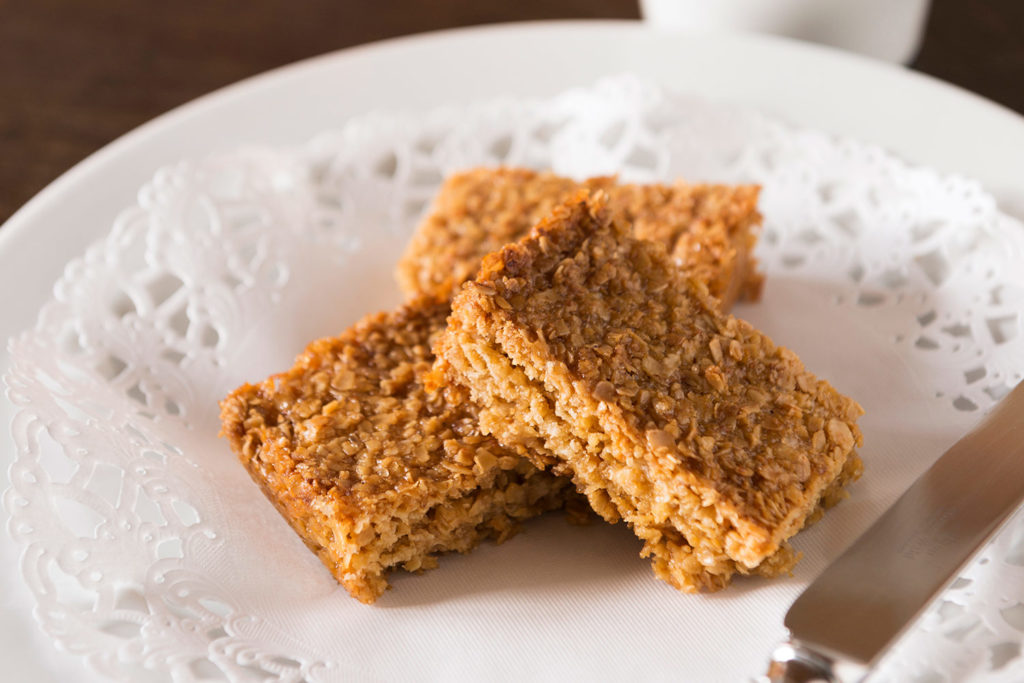 Guests love Jean's home-made flapjacks waiting for them on arrival | Upper Rectory Farm Cottages