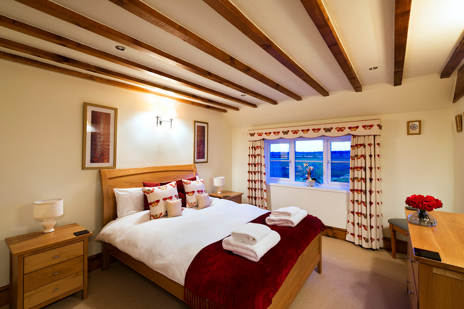 Relax in our ultra comfy beds at our flexible self-catering accommodation in the heart of England | Upper Rectory Farm Cottages