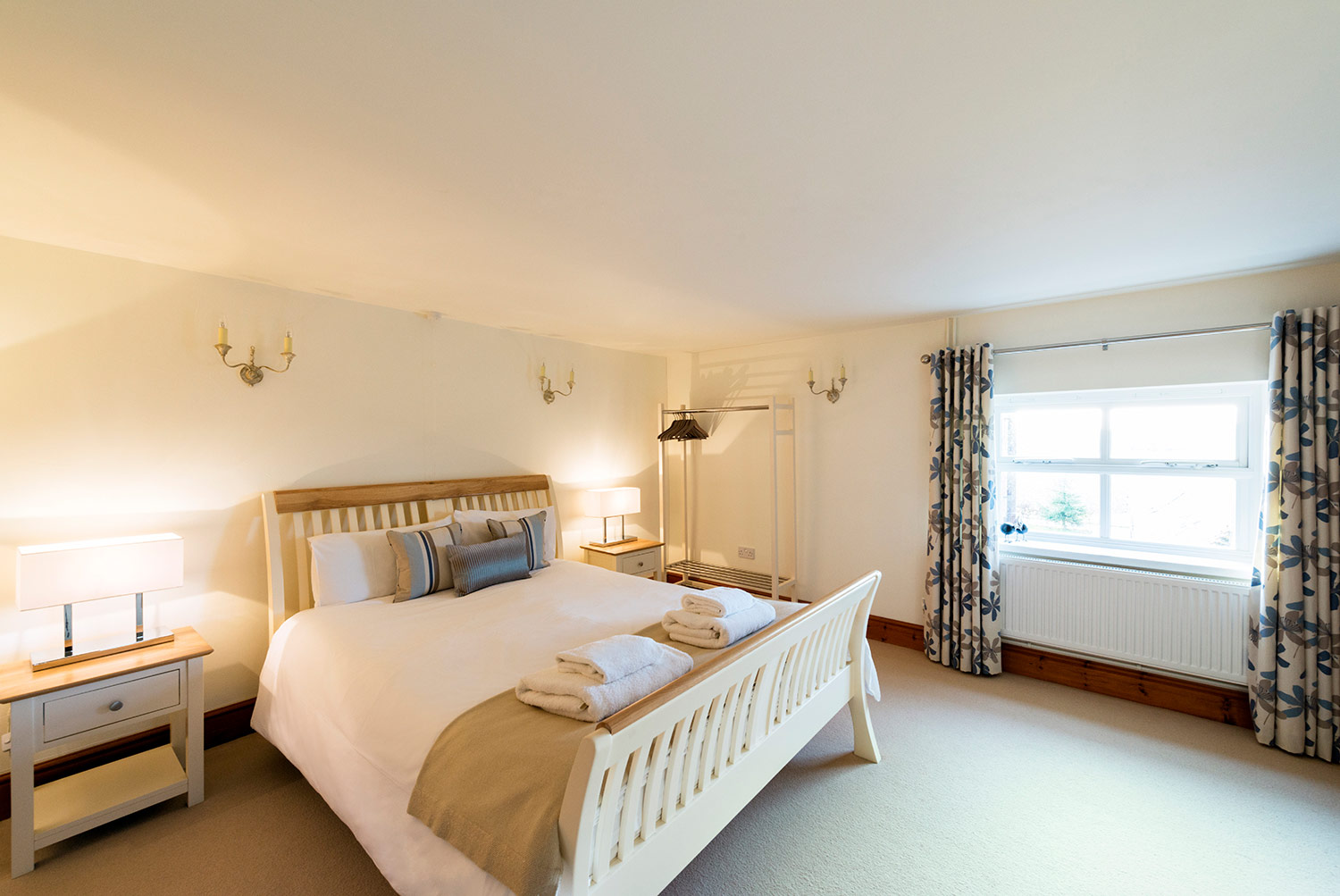 Private accommodation at Upper Rectory Farm Cottages in central UK