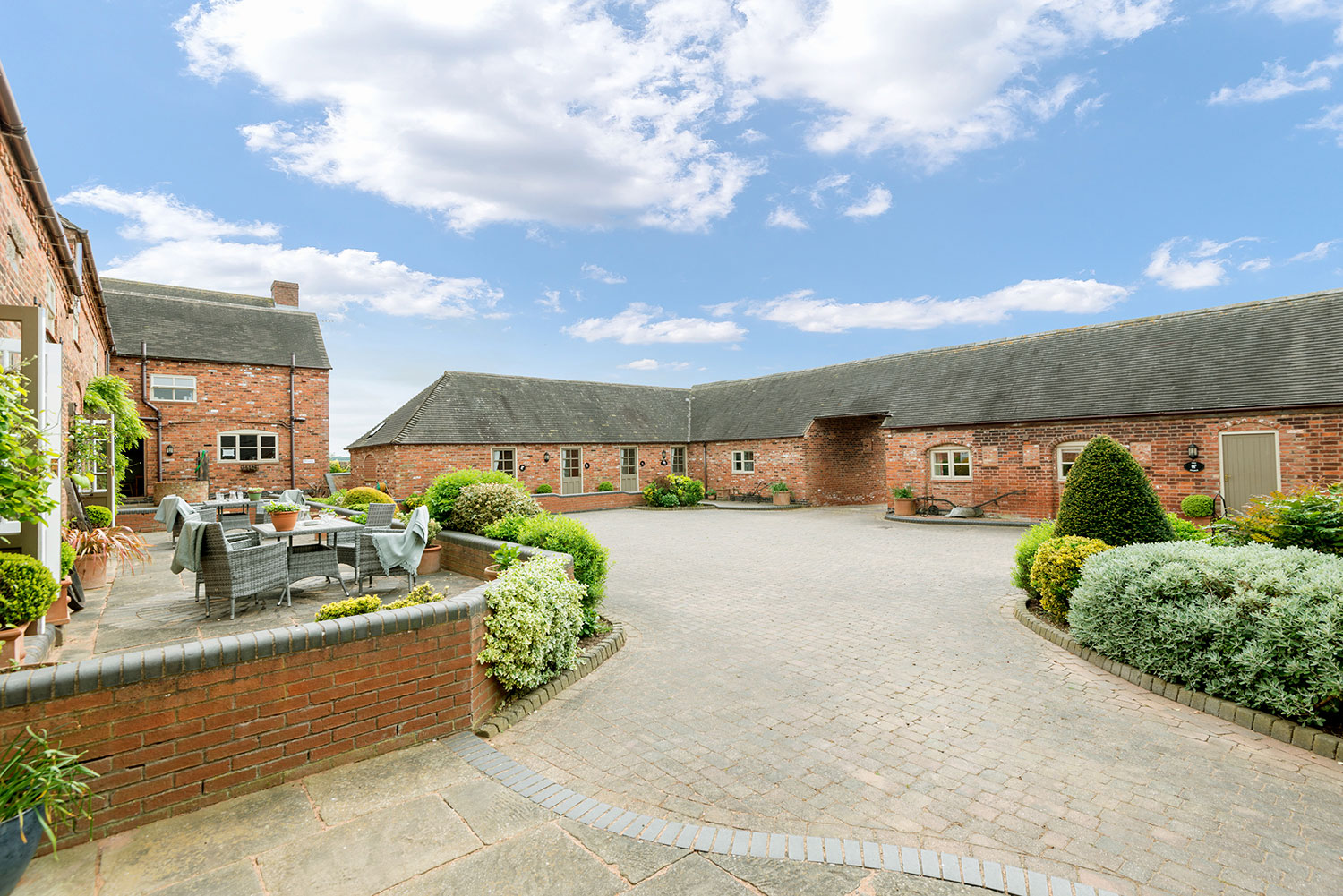 Group accommodation for up to 22 guests in central England | Upper Rectory Farm Cottages