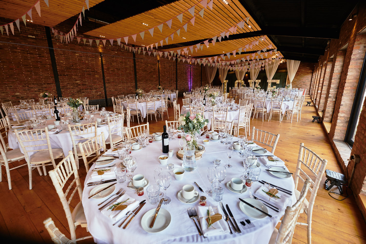 Romantic, rustic wedding venue at Norton Fields in Leicestershire | Upper Rectory Farm Cottages