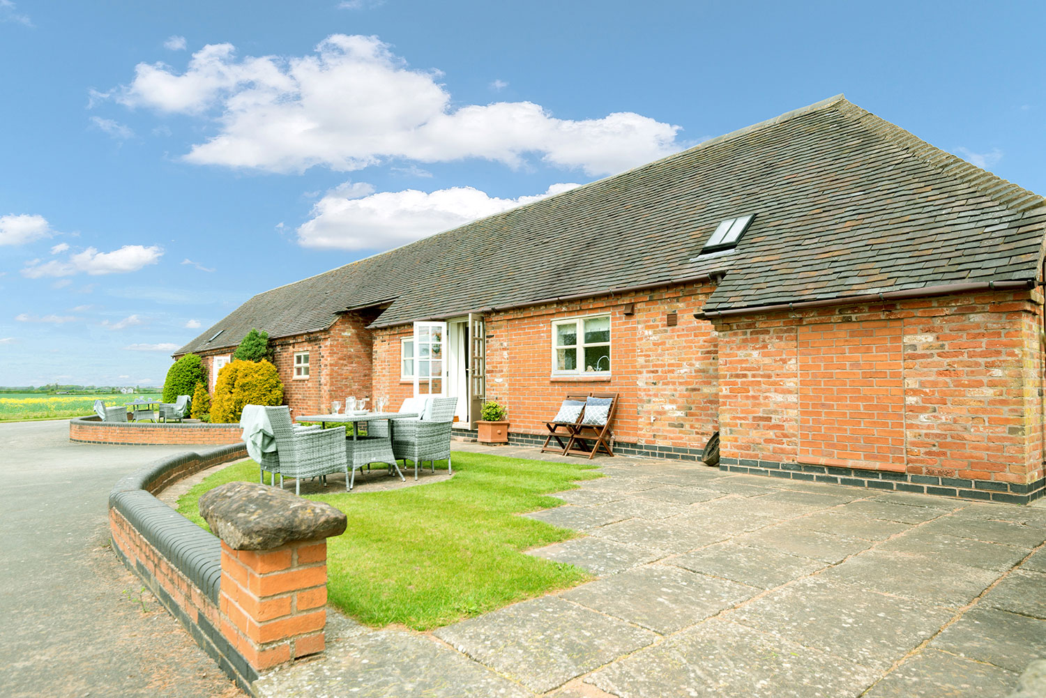 Holiday cottage with private outdoor space   Upper Rectory Farm Cottages
